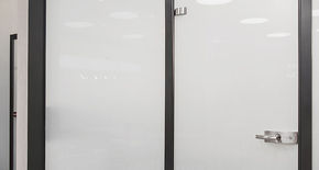 Photo Glass doors (all-glass)