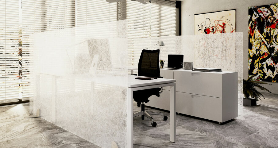 Photo Mobile glass partitions NAYADA-ICE