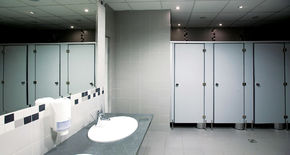 Photo Sanitary partitions