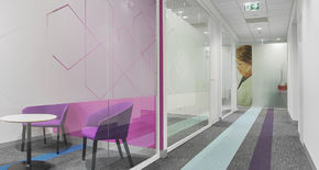 Photo Glass partitions NAYADA-Crystal