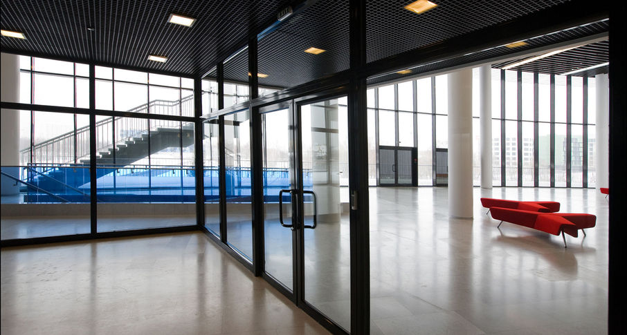 Photo Fire-resistant glazed doors