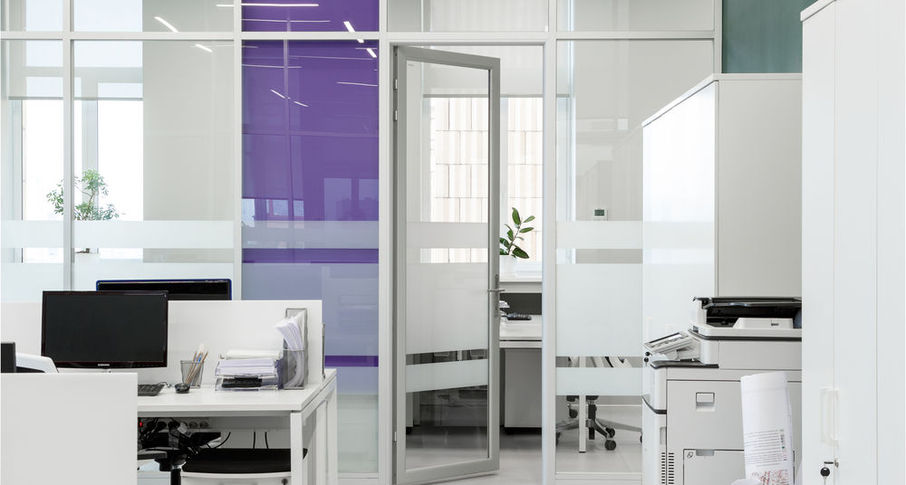 Photo Doors with aluminum lining