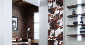 Photo SAVANNA Door in leather