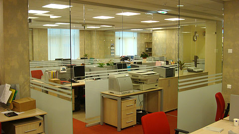 Photo The office disposing to work and rest.