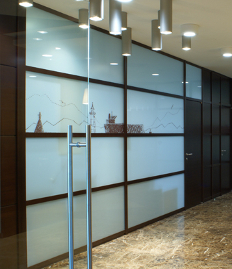 Office partitions in SVL Activ Trading Limited