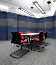 Office Partitions in the Moscow office of Discovery Communications