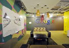 Nayada partitions in Google's Moscow office