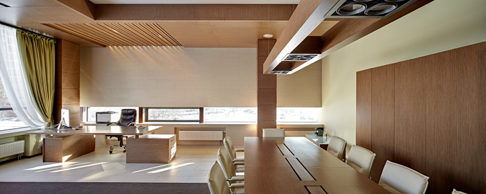 Photo The way top managers work: modern executive offices from NAYADA