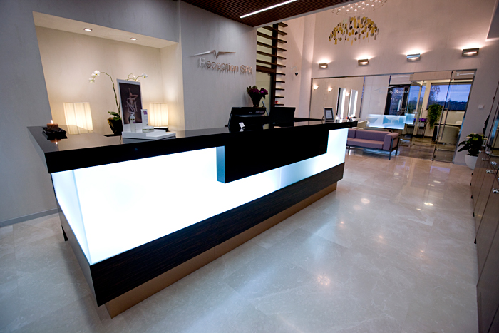 Photo Reception units: seamless elements of VIP interior