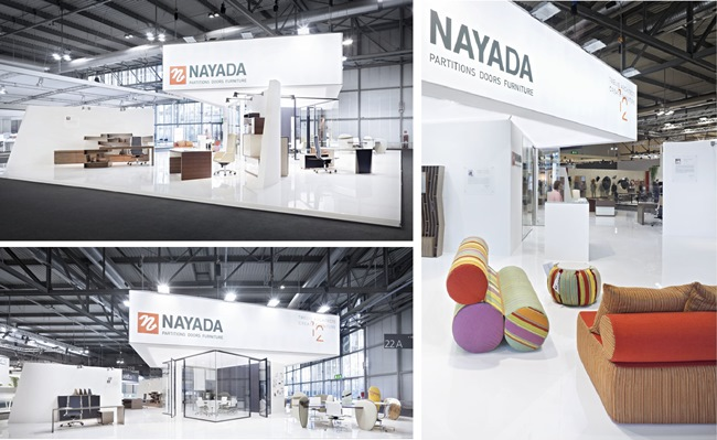 "Photo Results of I Saloni 2013: NAYADA – ""Designs of the Future"" in office spaces"