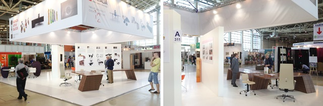 Photo NAYADA's non-standard furniture solutions at the exhibition Euroexpofurniture 2013 (EEM 2013)
