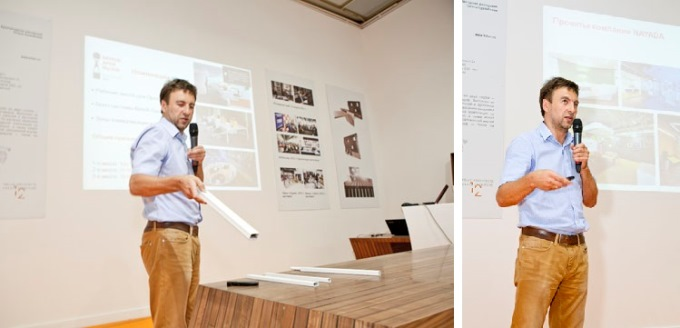 Photo ArchChallenge 2013: designers and architects were asked to create their own concepts of 'Flex Office'
