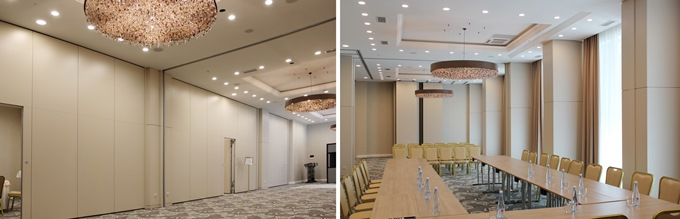 Photo NAYADA transforms space in the Ramada Kazan City Center in Kazan