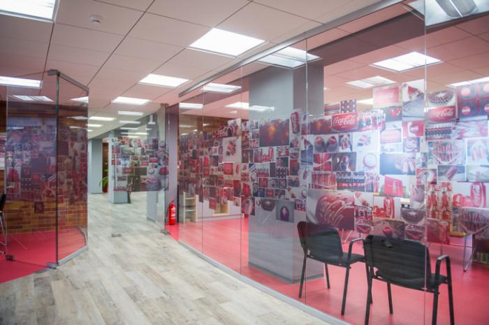Photo Always Coca-Cola: a project developed by NAYADA for the Chisinau branch of Coca-Cola