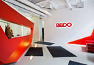 A riot of colors and shapes: NAYADA project for the office of the BBDO Group Advertising Agency
