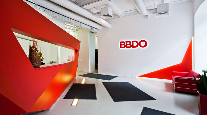Photo A riot of colors and shapes: NAYADA project for the office of the BBDO Group Advertising Agency