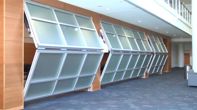 Hufcor Bifold Doors Amp Bi Folding Garage Door For The Home