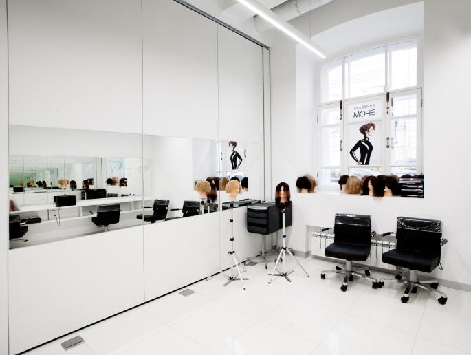 Photo Mirror geometry of space: NAYADA transformer partitions in the Beauty Academy