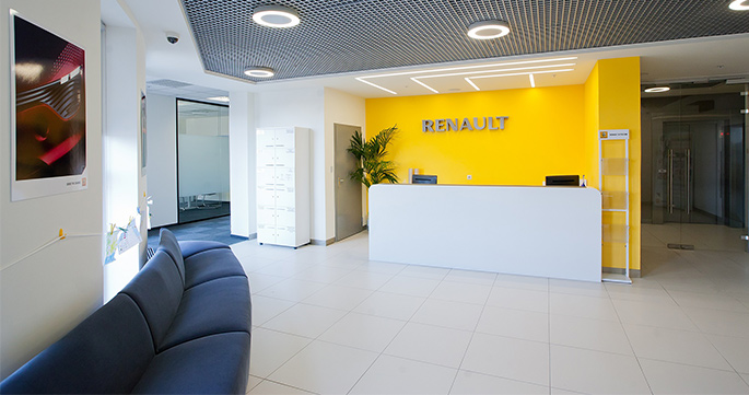 Photo Bright and functional: NAYADA created Renault's new Moscow office