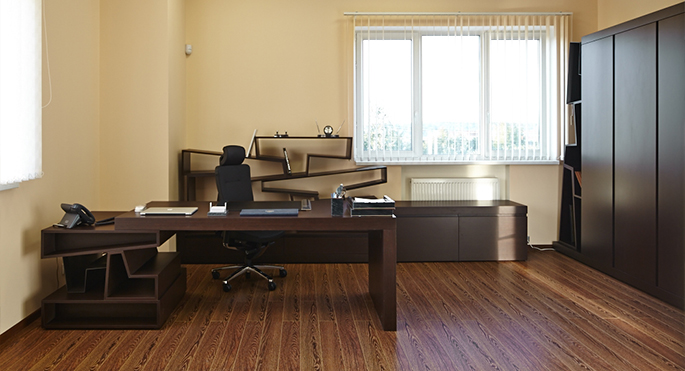 Photo NAYADA furniture collection in the executive offices of ProfHolod