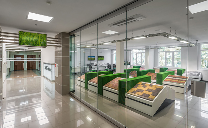 Photo New approach to working on specialized office spaces: NAYADA created a new office for the Bettex Company