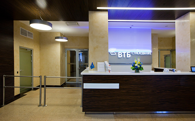 Photo NAYADA participated in designing the office of VTB-Insurance