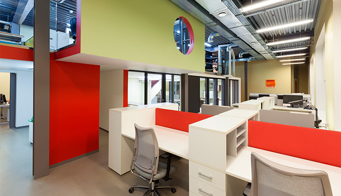 Photo New office of the NAYADA Company has been nominated for the Best Office Awards 2015