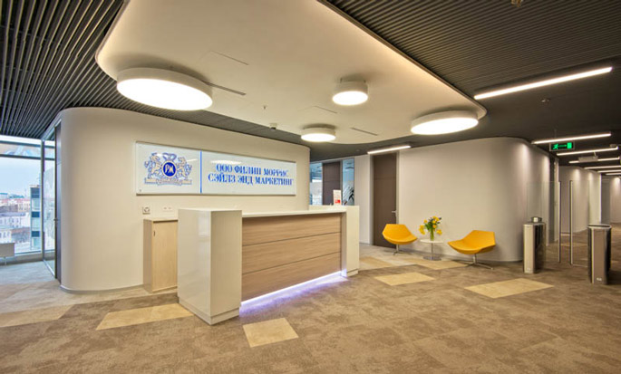 Photo NAYADA equips the Philip Morris Sales Office in Rostov-on-Don