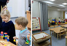NAYADA-Hufcor transformable partitions in Moscow daycares