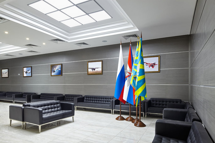 Photo NAYADA participated in the reconstruction of Chkalovsky Military Airport