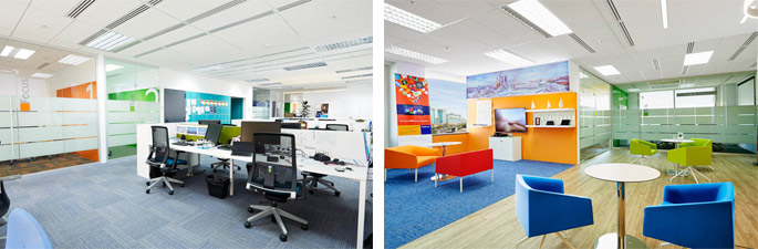 Projects in kazakhstan in which nayada participated have for Office design kazakhstan