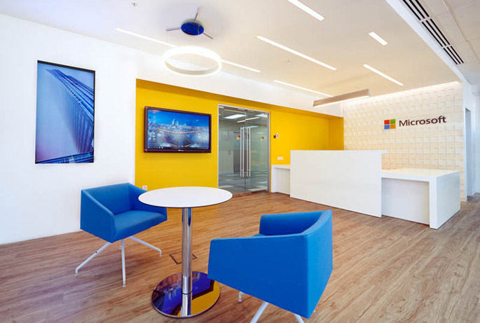 an office project for microsoft in which nayada