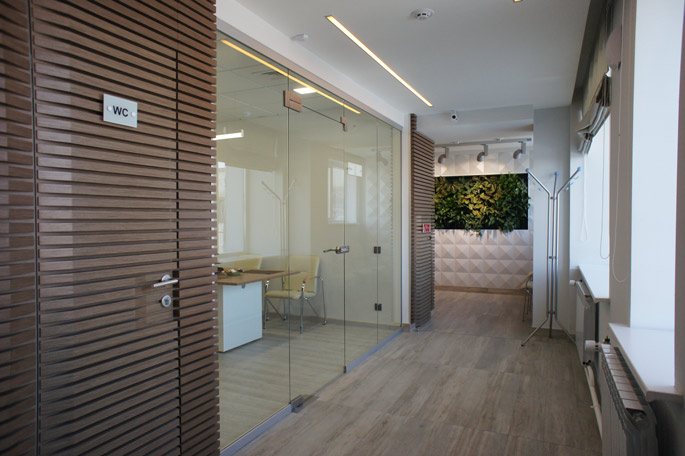 Photo NAYADA has equipped the office of the Commander retail chain in Krasnoyarsk