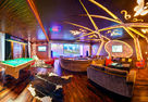 Custom integrated solutions: NAYADA products in a private music club