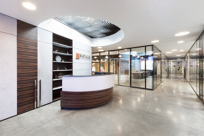 Production office of nayada nominated for best office for Award winning office interiors