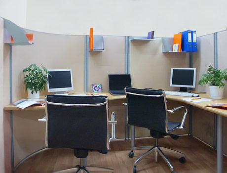 Radial Module in NAYADA-Optima+ Mobile Partitions