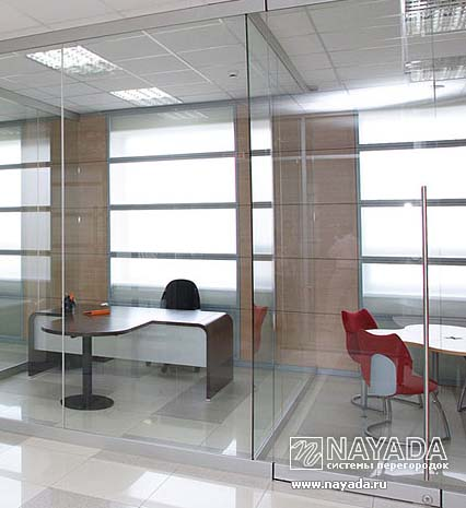 A new frame for NAYADA-Crystal office partitions