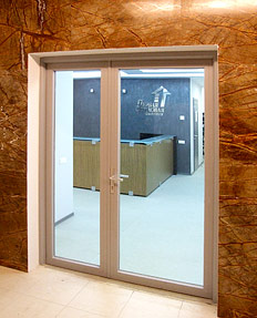 glass fireproof NAYADA doors