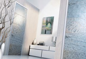 NAYADA presents textured stone door