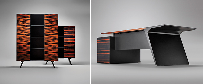 "Photo Maximum minimalism of new forms – the PIGRECO Collection of Luca Scacchetti for NAYADA's ""12 Architects Create Furn"
