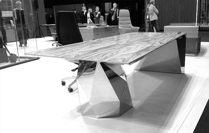 "Photo The GEMSTONE Collection by Francesco Morena for the NAYADA ""12 Architects Create Furniture"" project"