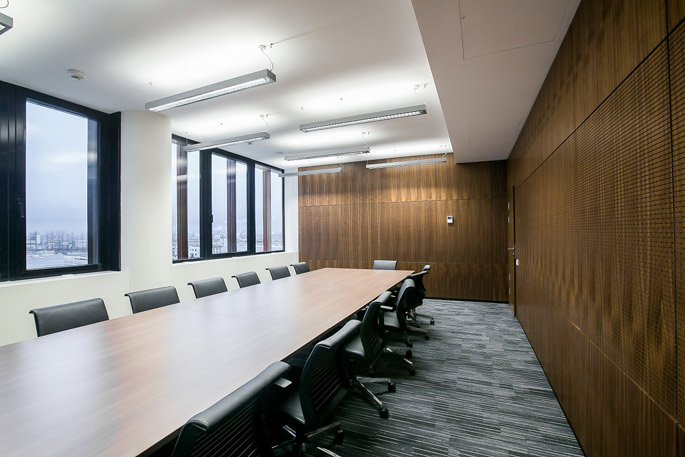 Photo NAYADA's comprehensive interior solutions for a business center