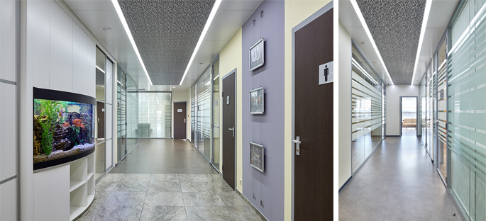 Photo Complex interior solutions by NAYADA in the Sintec Office