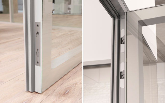 Photo NAYADA presents a new innovation in 2016 – the Magic double-leaf door