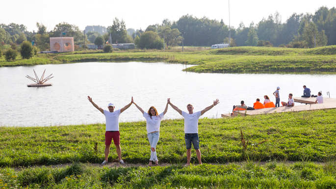 Photo The space experience: NAYADA celebrated its 21st anniversary with a Family Eco Holiday in nature of the Yasno Pole