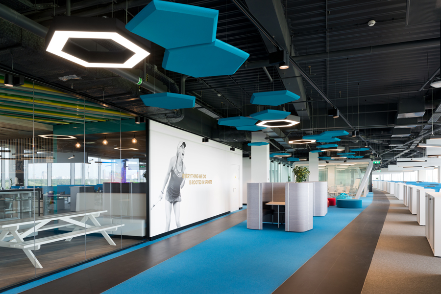 Photo Home of Sport: NAYADA Office for Adidas