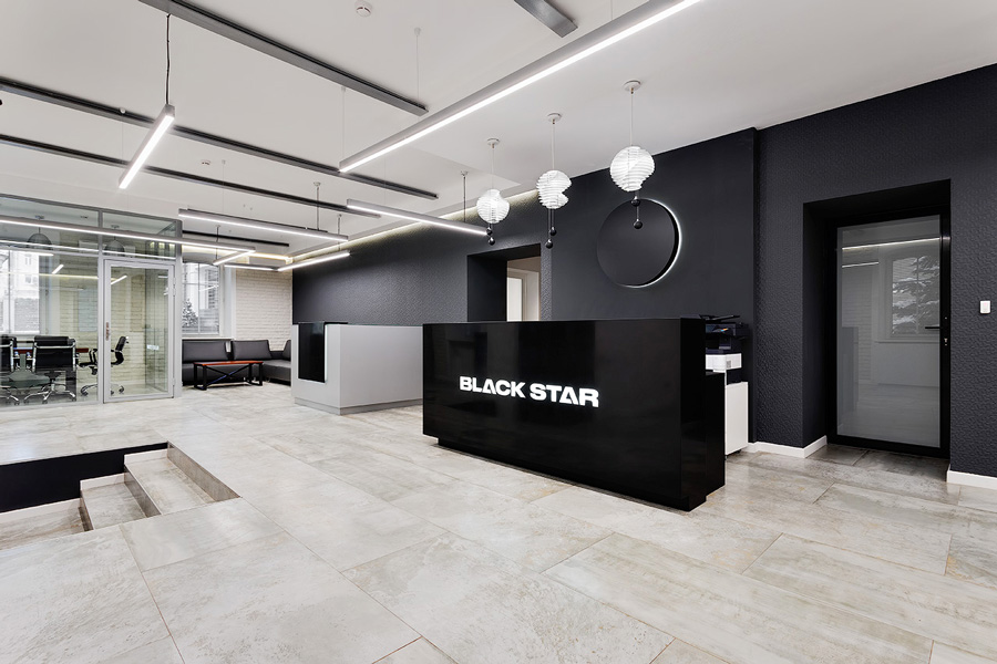 Photo NAYADA for the Black Star record label office