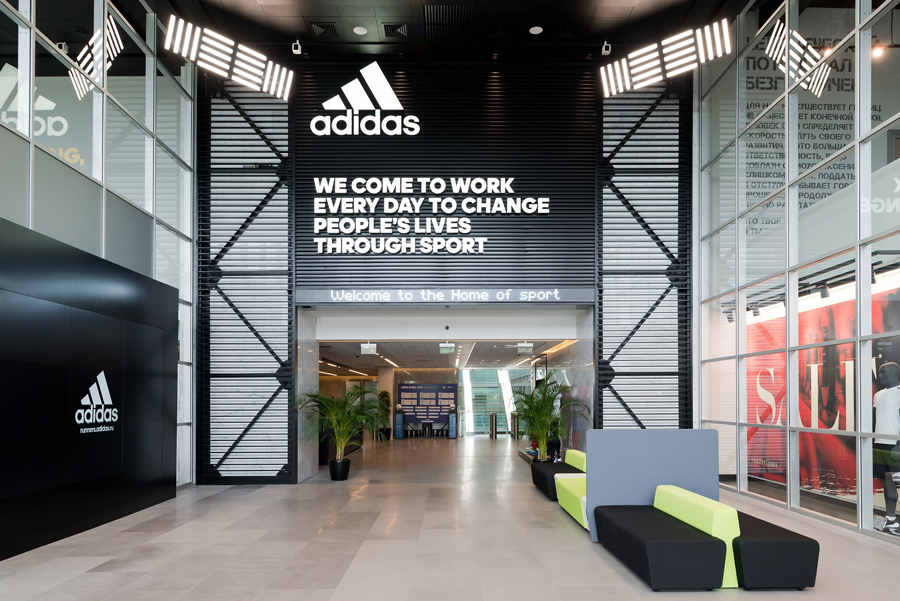 Photo Adidas office has been granted Grand Prix at Best Office Awards 2017!