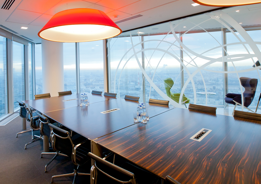 Photo Panoramic windows with attractive views: NAYADA for the CMS company office