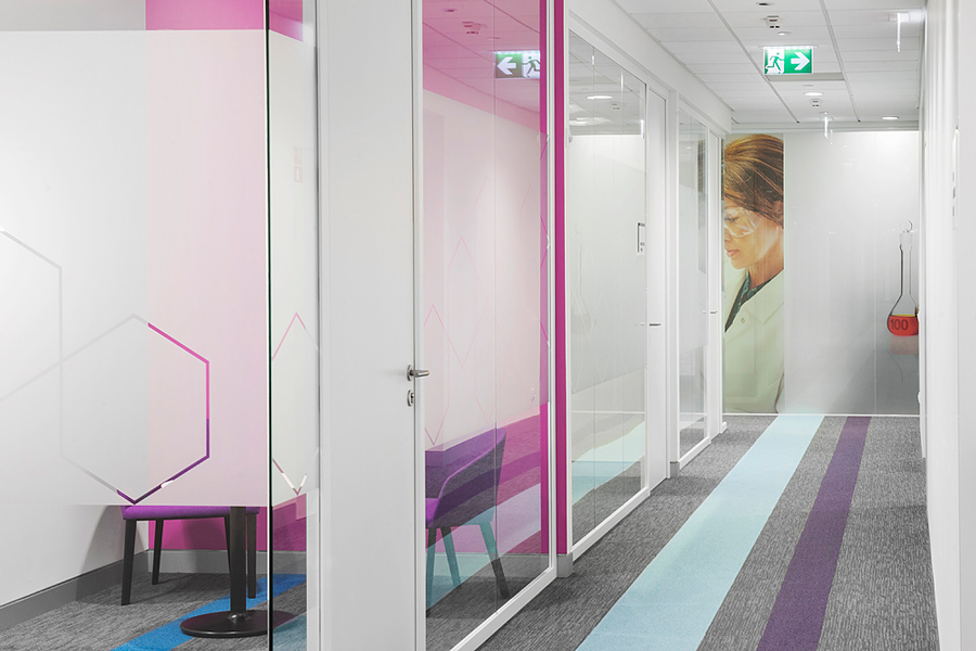 Photo It's time for remarkable innovations: NAYADA creates the office for a pharmaceutical company